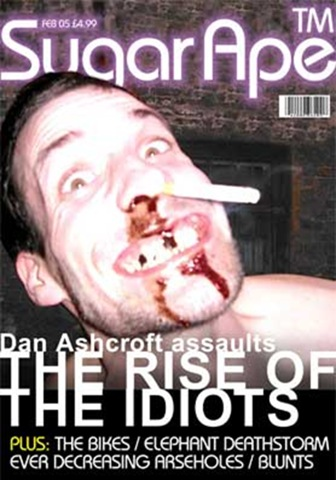 Nathan Barley - Sugar Ape Magazine cover